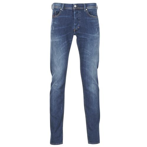 Clothing Men slim jeans Diesel TEPPHAR Blue / 0688a