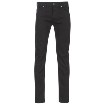 Clothing Men Slim jeans Diesel THOMMER Black / 0688h