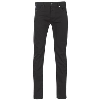 Clothing Men Slim jeans Diesel THOMMER Black / 0688h