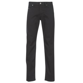 Clothing Men straight jeans Diesel LARKEE BEEX Black / 0688h