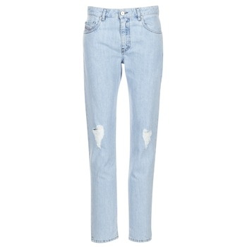 Clothing Women straight jeans Diesel NEEKHOL Blue / 84pl