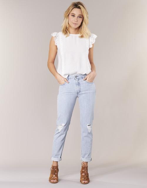Clothing Women straight jeans Diesel NEEKHOL Blue / 84pl