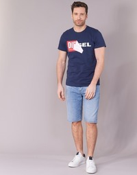 Clothing Men Shorts / Bermudas Diesel THOSHORT Blue / 84qn