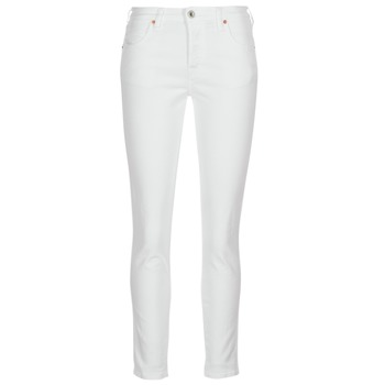 Clothing Women Slim jeans Diesel BABHILA White