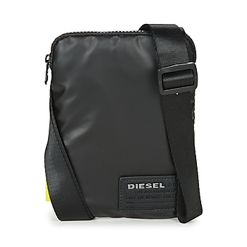 Bags Men Pouches / Clutches Diesel DISCOVER SMALLCROSS Black