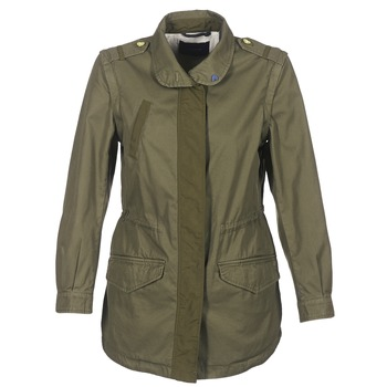 Clothing Women Parkas Maison Scotch XERF Kaki