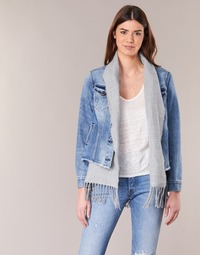 Clothing Women Denim jackets Scotch & Soda XAOUDE Blue / Clear / Grey
