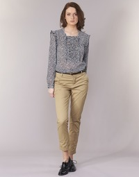 Clothing Women chinos Scotch & Soda BEIBEO Beige