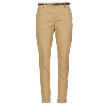 Clothing Women chinos Maison Scotch BEIBEO Beige