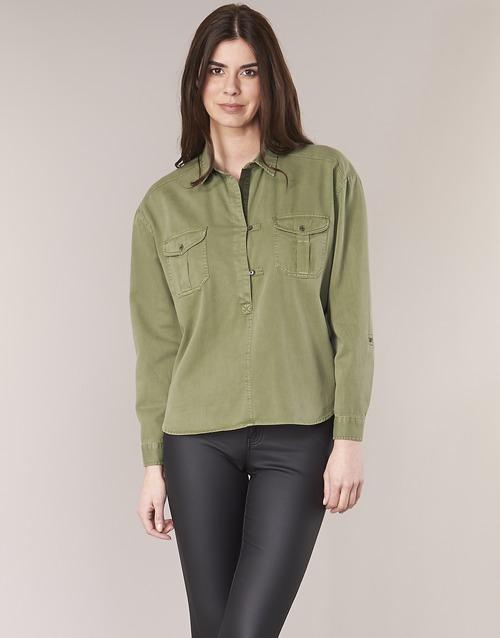 Clothing Women Tops / Blouses Maison Scotch BRAVO Kaki