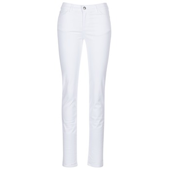 Clothing Women slim jeans Emporio Armani NARRABO White