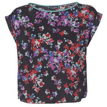 Clothing Women Tops / Blouses Emporio Armani MORI Multicolour