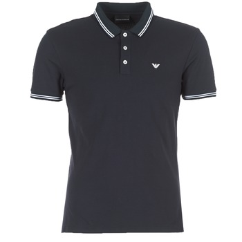 Clothing Men Short-sleeved polo shirts Emporio Armani TAMWU Marine