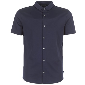 Clothing Men short-sleeved shirts Emporio Armani BEWU Marine