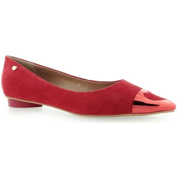 Shoes Women Flat shoes Love Moschino Scapra Rosso Red