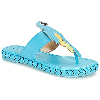 Shoes Women Flip flops Katy Perry THE YASUNI Blue