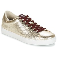 Shoes Women Low top trainers Victoria DEPORTIVO METALIZADO Gold