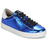 Shoes Women Low top trainers Victoria DEPORTIVO METALIZADO Blue