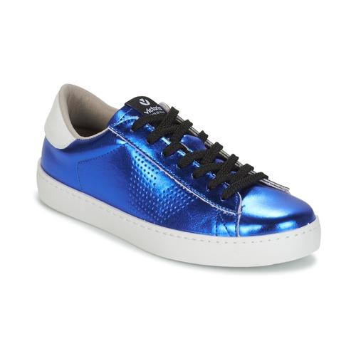 Shoes Women Low top trainers Victoria DEPORTIVO METALIZADO Blue