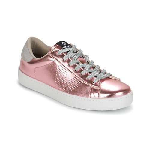 Shoes Women Low top trainers Victoria DEPORTIVO METALIZADO Pink