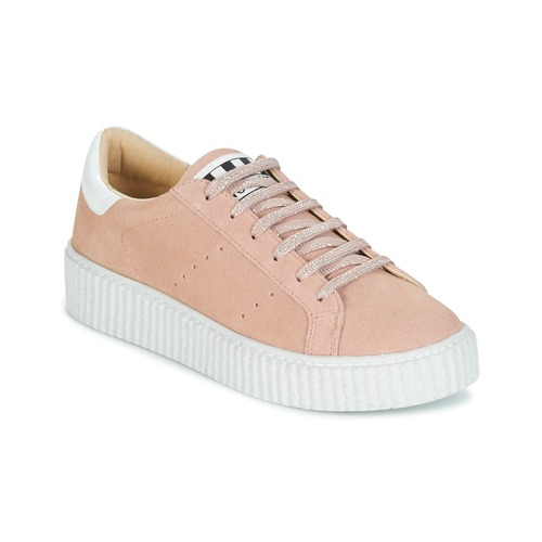 Shoes Women Low top trainers No Name PICADILLY SNEAKER Pink