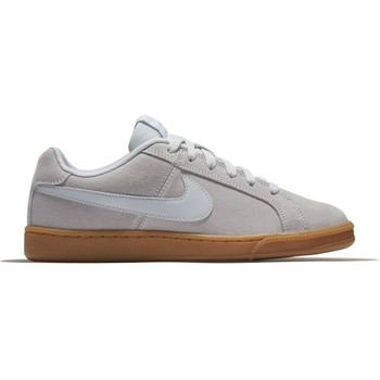 Shoes Women Low top trainers Nike Women's  Court Royale  SUEDE Shoe BEIGE