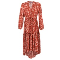 Clothing Women Long Dresses Betty London HALETTE Red