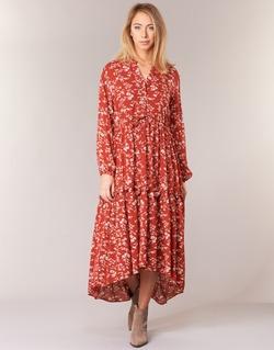 Clothing Women Long Dresses Betty London HALETTE Red
