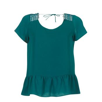 Clothing Women Tops / Blouses Betty London INOTTE Green
