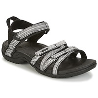 Shoes Women Outdoor sandals Teva TIRRA Black / White