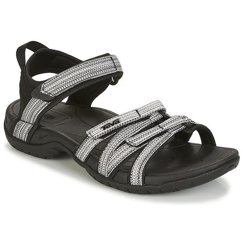 Shoes Women Sandals Teva TIRRA Black / White