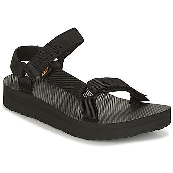 Shoes Women Sandals Teva MIDFORM UNIVERSAL Black