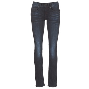 Clothing Women straight jeans G-Star Raw MIDGE SADDLE MID STRAIGHT Rink