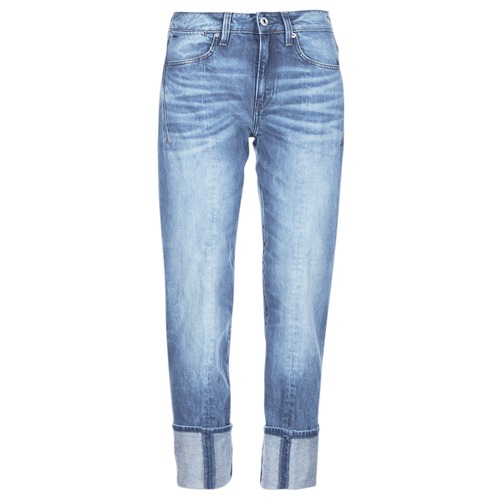 Clothing Women 3/4 & 7/8 jeans G-Star Raw LANC 3D HIGH STRAIGHT Blue