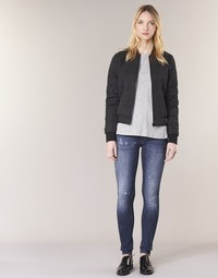 Clothing Women Skinny jeans G-Star Raw D-STAQ 5 PKT MID SKINNY Medium / Aged / Restored