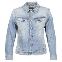 Clothing Women Denim jackets G-Star Raw 3301 N BOYFRIEND DENIM JACKET Blue