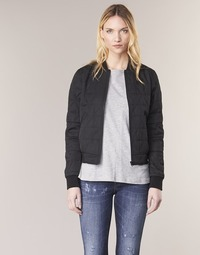Clothing Women Jackets G-Star Raw RACKAM SLIM BOMBER Black
