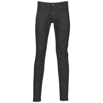 Clothing Men Skinny jeans G-Star Raw REVEND SUPER SLIM Black