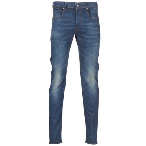 Clothing Men Slim jeans G-Star Raw 3301 SLIM Blue