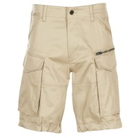 Clothing Men Shorts / Bermudas G-Star Raw ROVIC ZIP LOOSE 1/2 Beige