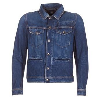 Clothing Men Denim jackets G-Star Raw D-STAQ 3D DC S JKT Medium / Vintage / Aged