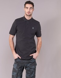 Clothing Men short-sleeved polo shirts G-Star Raw DUNDA POLO S/S Black