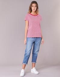 Clothing Women Boyfriend jeans G-Star Raw 3301 HIGH BOYFRIEND 7/8 WMN Lt / Aged / Small / Destroy