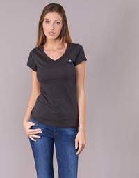 Clothing Women short-sleeved t-shirts G-Star Raw EYBEN SLIM V T WMN S/S Black