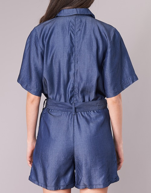 Blue Bronson G Short Raw star Jumpsuit SqnnfEP1w
