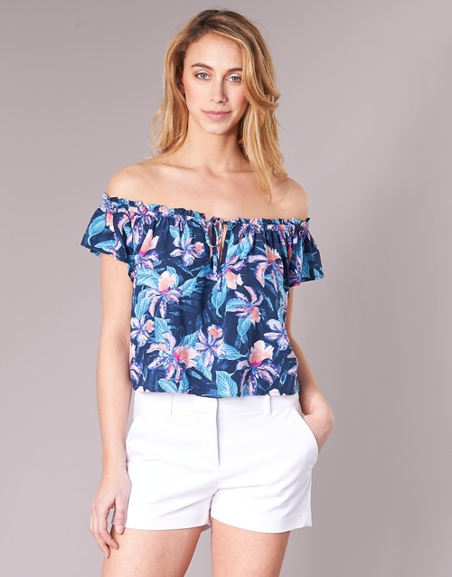 Clothing Women Tops / Blouses Rip Curl TROPIC TRIBE TOP Blue