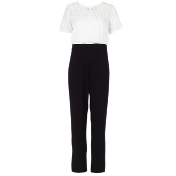 Clothing Women Jumpsuits / Dungarees Molly Bracken YURITOE Black / White