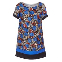 Clothing Women Short Dresses Molly Bracken JUNCE Blue