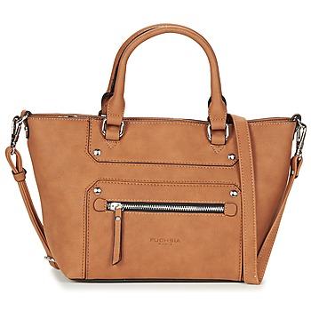 Bags Women Handbags Fuchsia VICTOIRE 5 Cognac