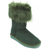 Shoes Women Mid boots Woz ? Botas Pelo UP483VD green